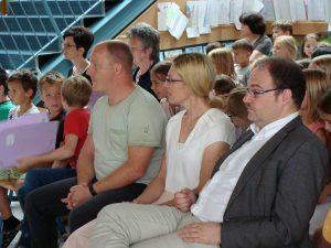 Frau Fuchs, Herr Stubhahn und Herr Pfarrer Altschäffel